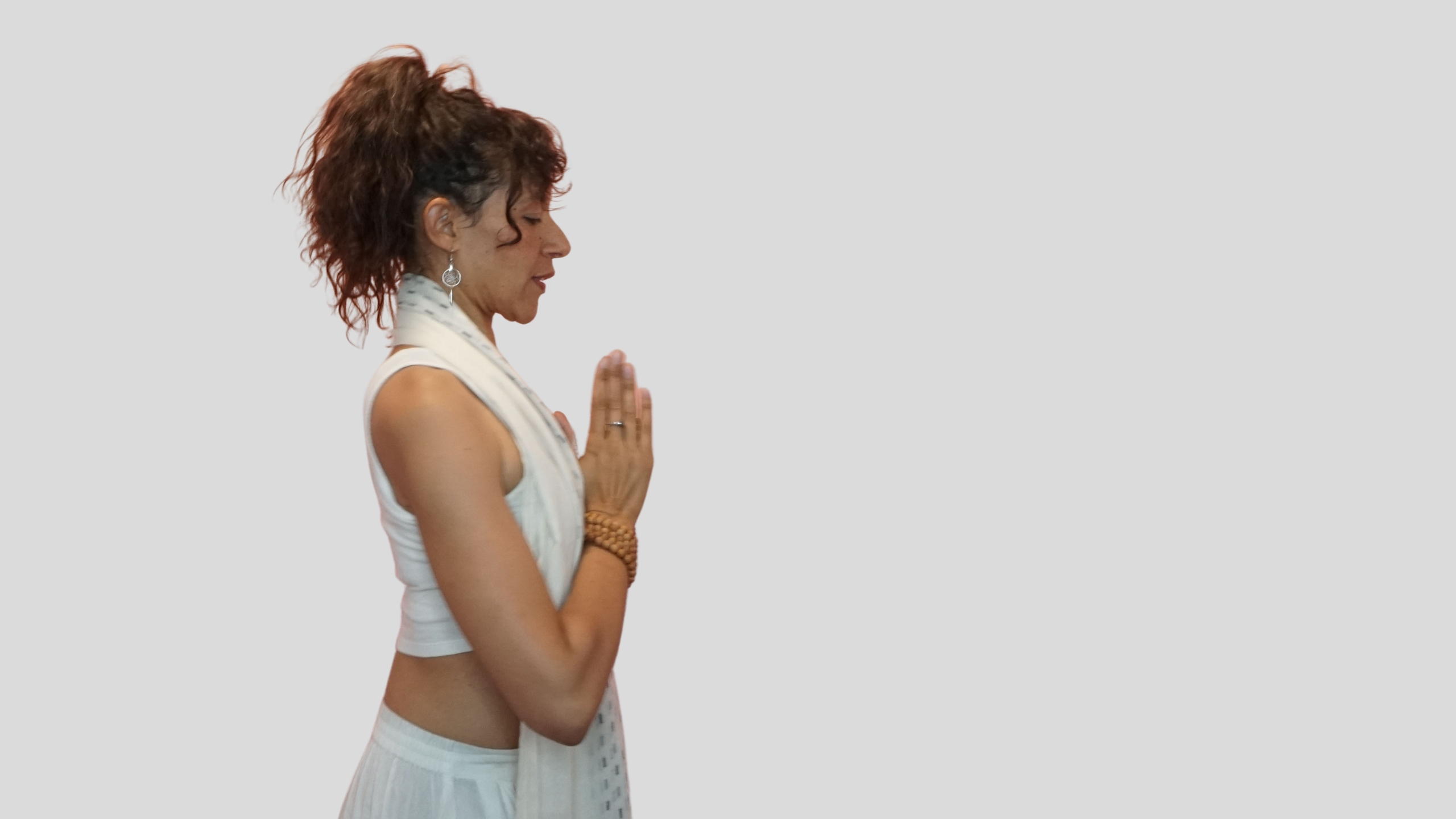 Charisma Whitefeather, Kundalini Yoga for PMDD, teacher in Los Angeles, release childhood trauma with yoga